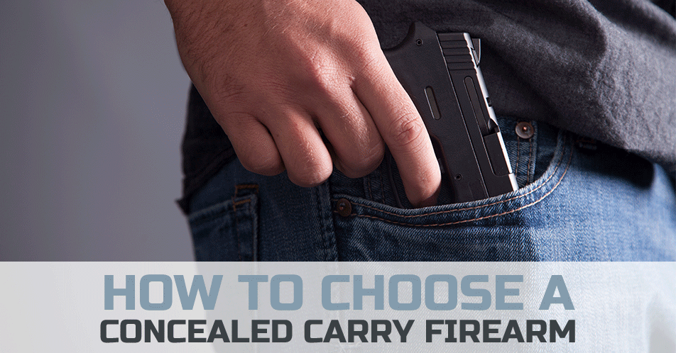 How to Choose a Concealed Carry Firearm