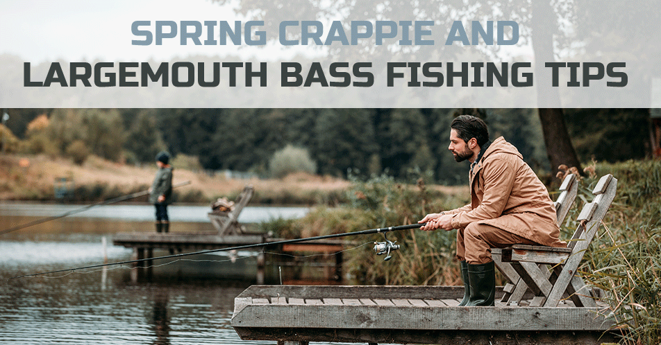 Spring Crappie and Largemouth Bass Fishing Tips