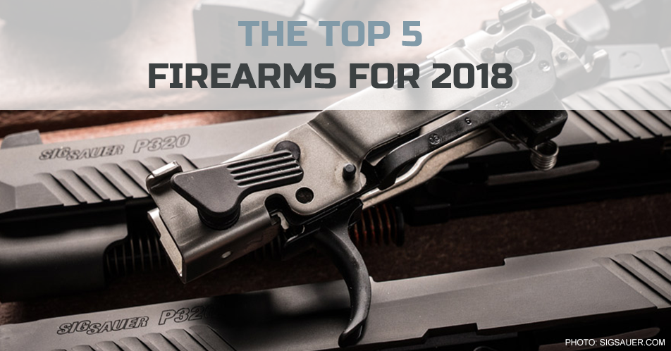 The Top 5 Firearms for 2018
