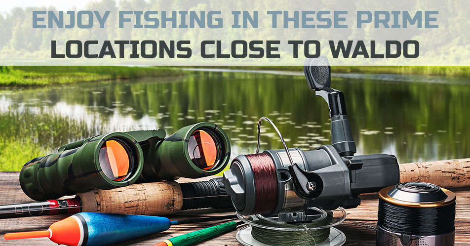 Enjoy Fishing in These Prime Locations Close to Waldo